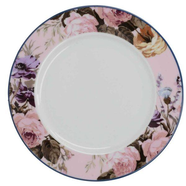 Katie Alice Wild Apricity Pink Floral Side Plate 19cm