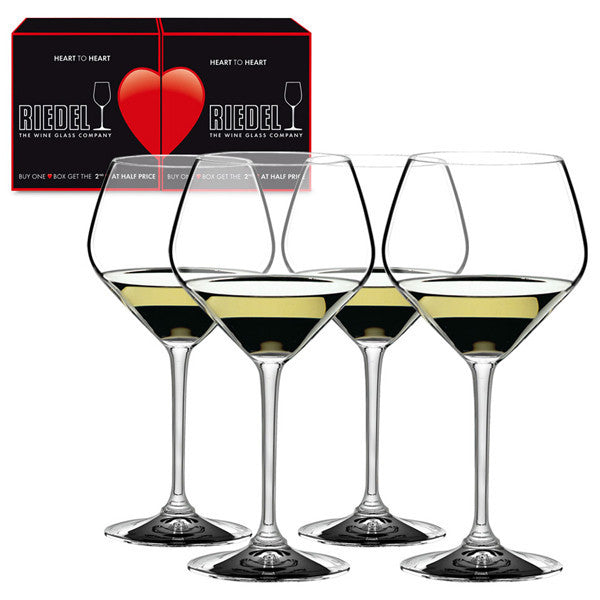 Riedel Heart to Heart Oaked Chardonnay Glass 0.67L (Set of 4)