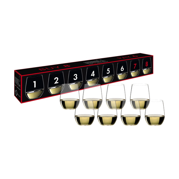 Riedel O Viognier and Chardonnay Glass (Set of 8)