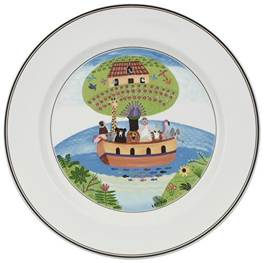 Villeroy and Boch Design Naif Noahs Ark Salad Plate 21cm
