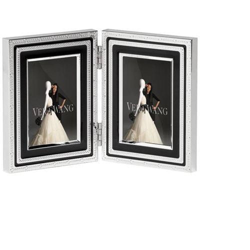 Wedgwood Vera Wang With Love Noir Photo Frame 5cm by 7.5cm
