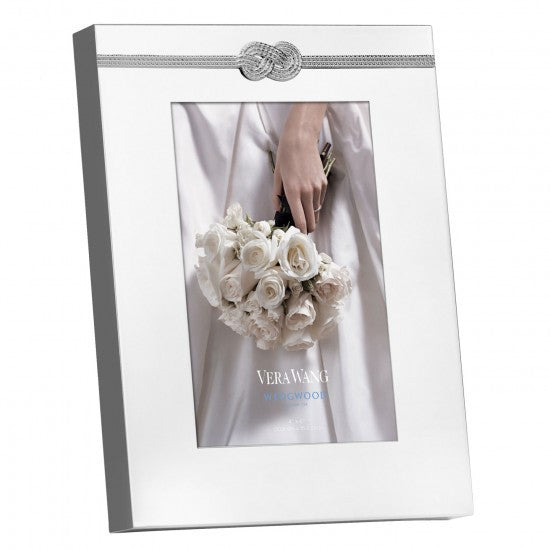Wedgwood Vera Wang Giftware Infinity Photo Frame 4 by 6in
