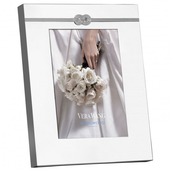 Wedgwood Vera Wang Giftware Infinity Photo Frame 5 by 7in