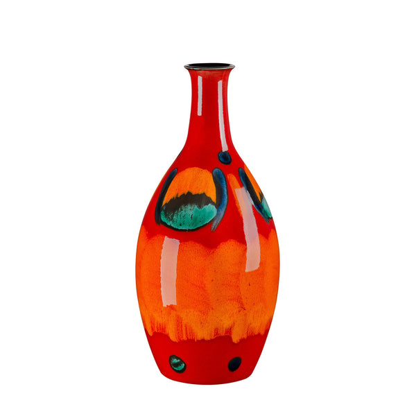 Poole Pottery Volcano Tall Bottle Vase 26cm