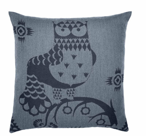 Iittala Taika Blue Linen Cushion Cover 50cm By 50cm (Cover Only)