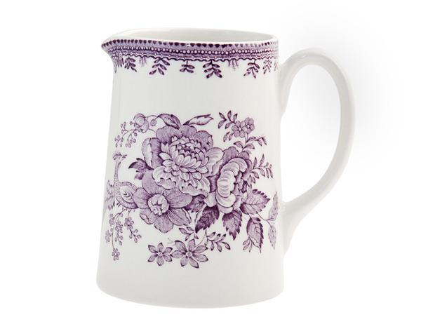 Burleigh Plum Asiatic Pheasants Mini Tankard 160ml/1/4pt