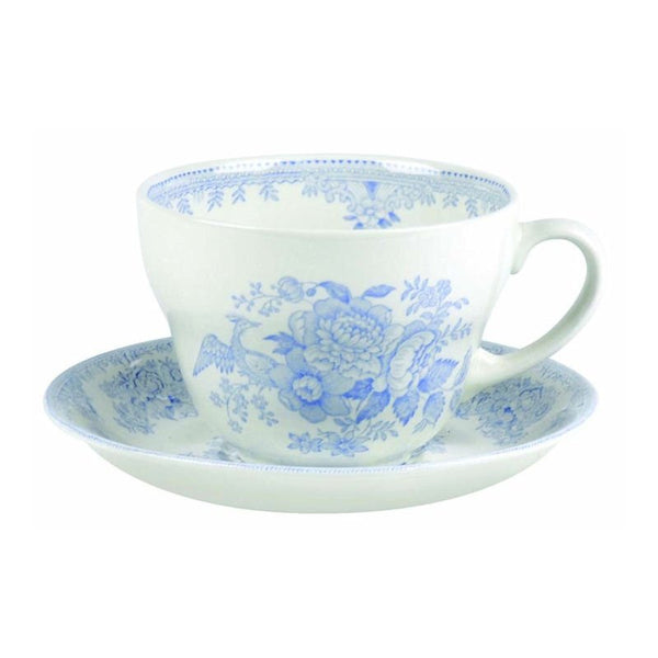 Burleigh Blue Asiatic Pheasant Breakfast Cup Saucer (Saucer only)