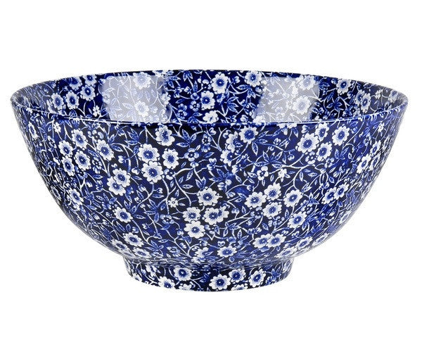 Burleigh Blue Calico Rice Bowl 16cm
