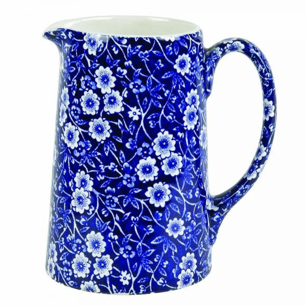 Burleigh Blue Calico Jug 160ml