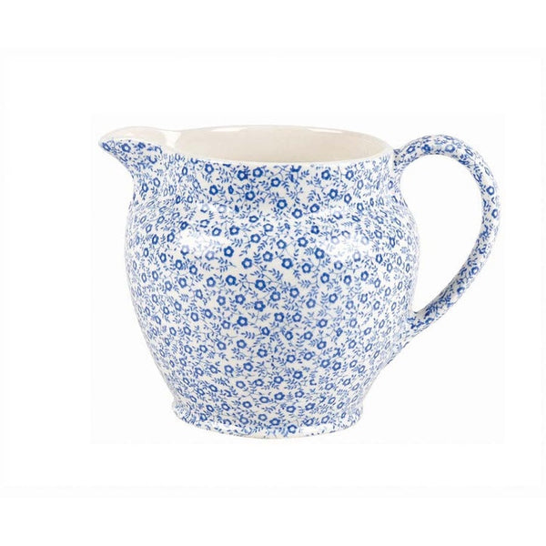 Burleigh Blue Felicity Small Dutch Jug 0.28L