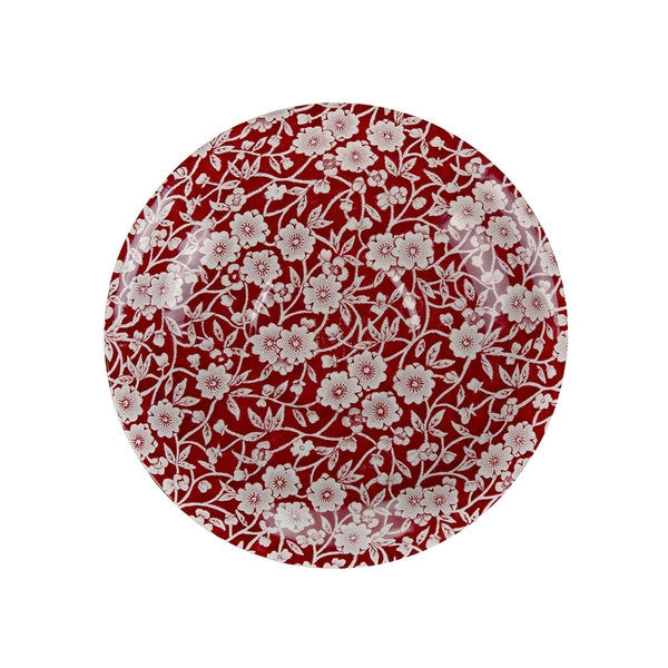 Burleigh Red Calico Breakfast Cup Saucer (Saucer Only)
