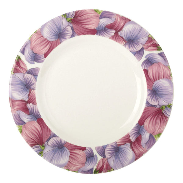 Portmeirion Botanic Blooms Sweet Pea Salad Plate 22.5cm (Set of 4)