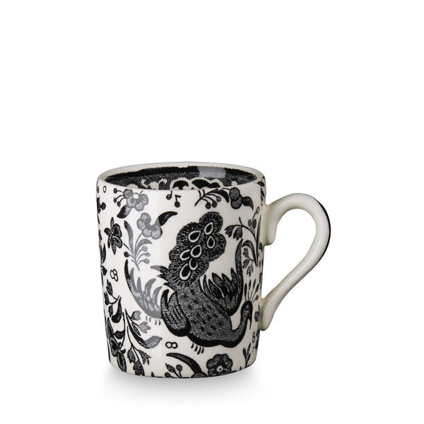 Burleigh Black Regal Peacock Espresso Cup (Cup Only)