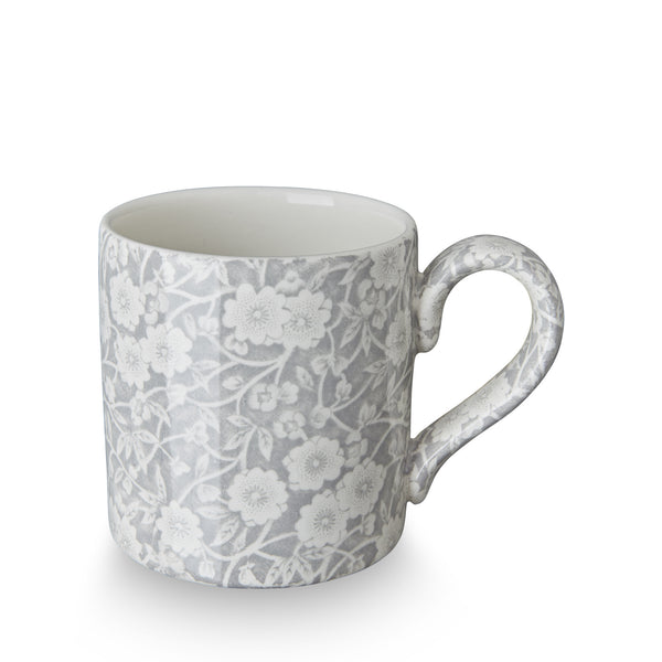 Burleigh Dove Grey Calico Mug 0.28L