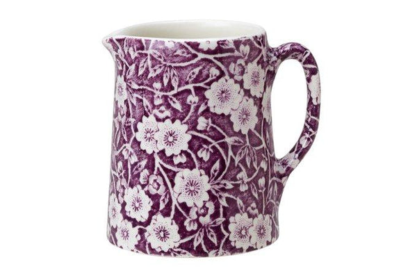 Burleigh Mulberry Calico Tankard Jug Mini 160ml