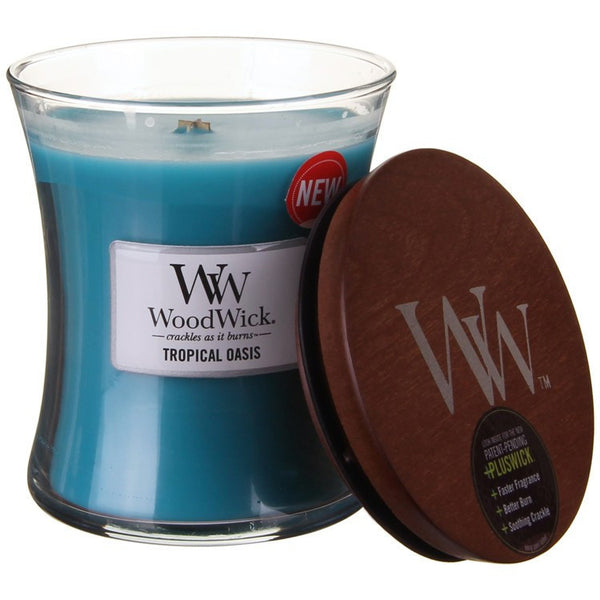 WoodWick Tropical Oasis Medium Candle