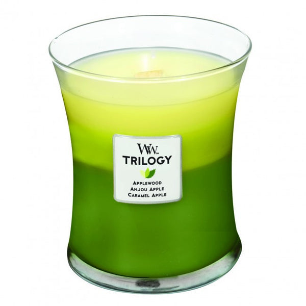 WoodWick Apple Festival Medium Trilogy Candle