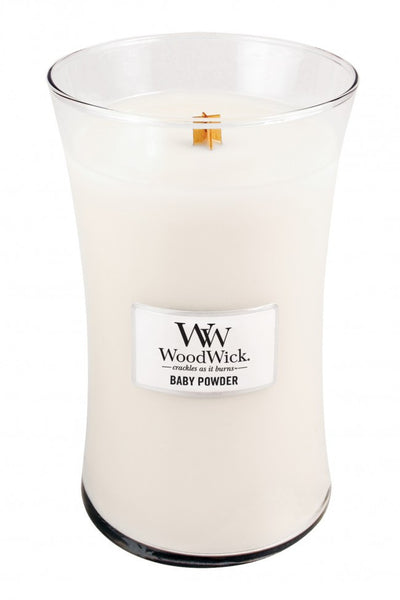 WoodWick Baby Powder Large Candle