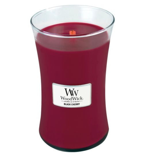 WoodWick Black Cherry Large Candle