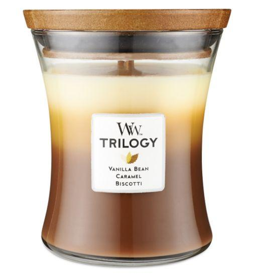 WoodWick Cafe Sweets Large Trilogy Candle