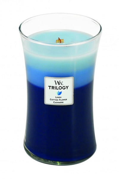 WoodWick Clothesline Fresh Large Trilogy Candle