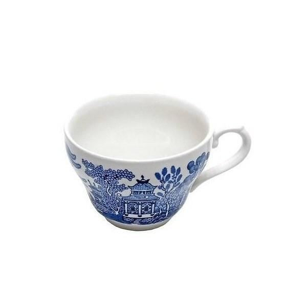 Churchill China Blu Willow Teacup 0.20L (Set Of 6)