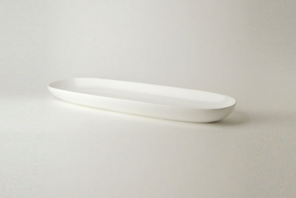Maxwell and Williams White Basics Garlic Bread Plate 35cm