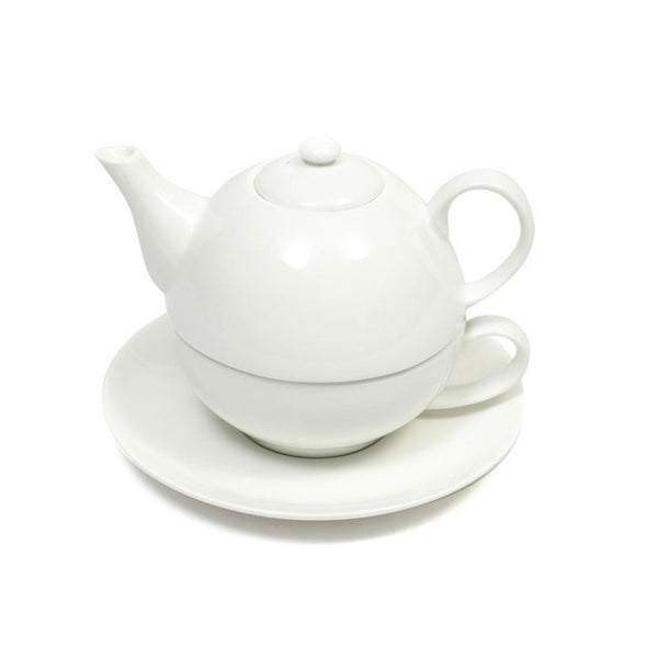 Maxwell and Williams White Basics Tea For One