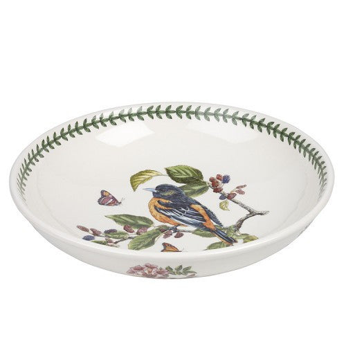 Portmeirion Botanic Garden Birds Low Bowl 33cm