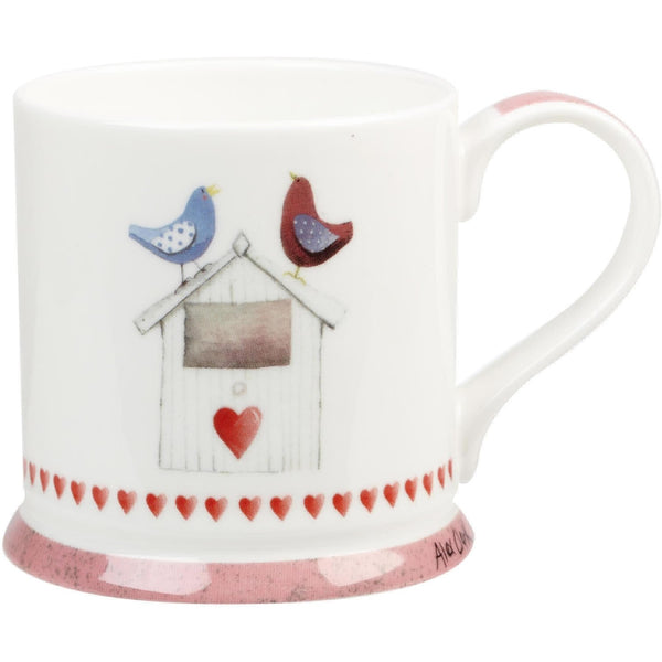 Alex Clark Lovebirds Bird Box Mug 0.26L