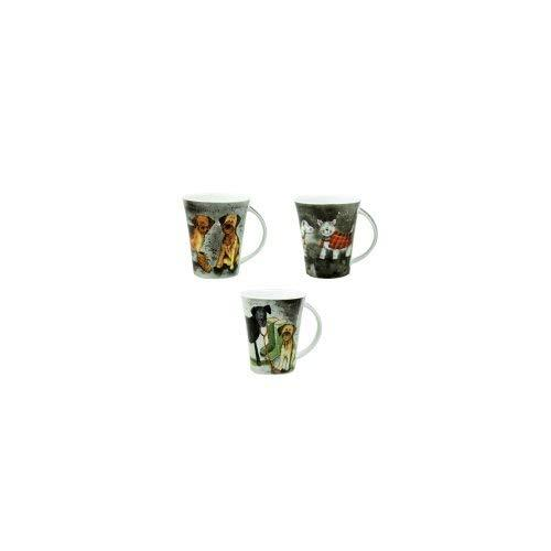 Alex Clark Dogs Pack of Pair Mugs 0.37L (Assorted design)