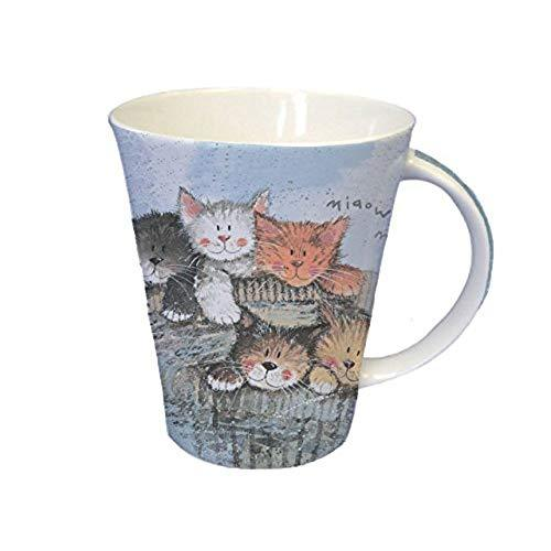 Alex Clark Kittens Pack of Pair Mugs 0.37L (Assorted design)