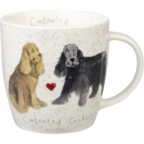Alex Clark Mugs Cocker Spaniel Squash Mug 0.39L