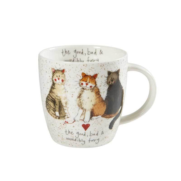 Alex Clark Squash Good Bad Furry Mug 0.40L
