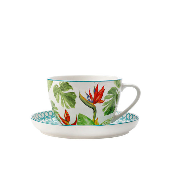 Christopher Vine Paradiso Teacup and Saucer 0.26L
