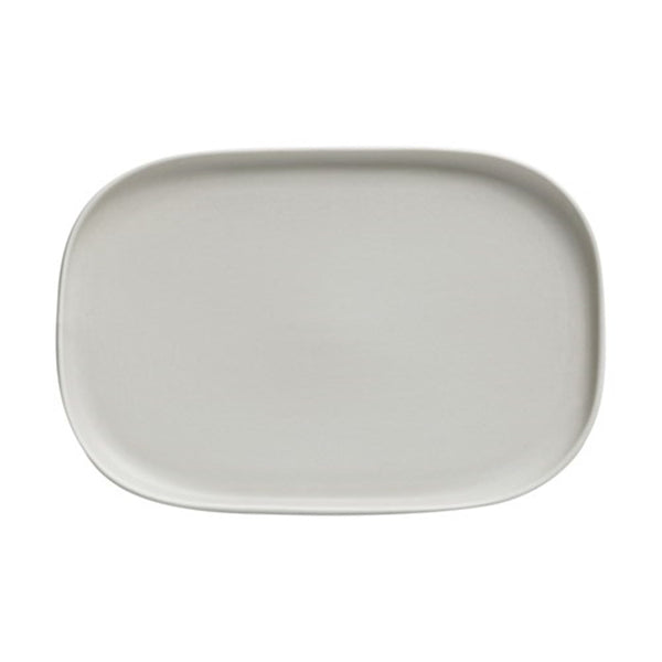 Maxwell and Williams Elemental Grey Rectangular Platter 23.5cm by 16cm