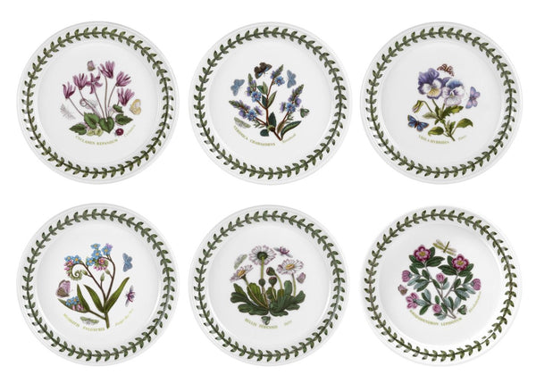 Portmeirion Botanic Garden Bread And Butter Plate 5in (Set of 6)