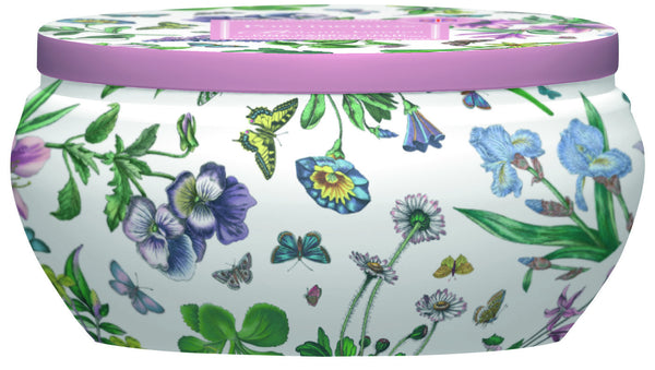 Portmeirion Botanic Garden Fragrance Pink Parrot Tulip Boutique Tin Candle