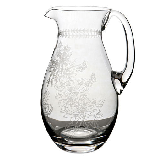 Portmeirion Botanic Garden Glass Pitcher 1.9L