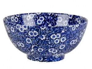 Burleigh Blue Calico Cereal Bowl 20cm