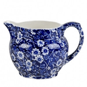 Burleigh Blue Calico Small Dutch Jug 0.28L