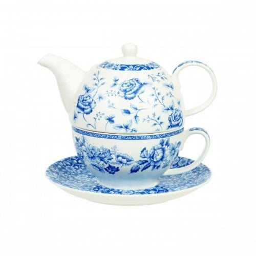 Churchill China Blue Story Teapot for One