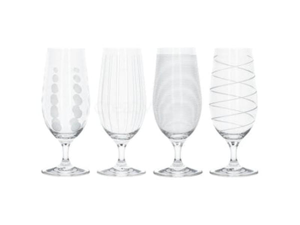 Mikasa Cheers Craft Beer Glasses (Set of 4)