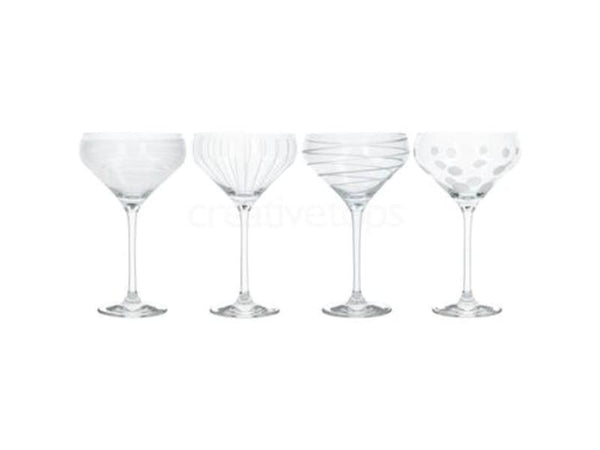 Mikasa Cheers Champagne Saucers (Set of 4)