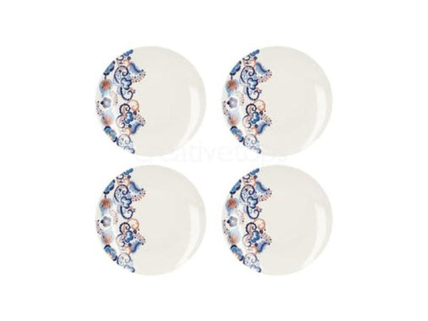 Creative Tops Victoria and Albert Rococo Silk Dinner Plates (Set of 4)