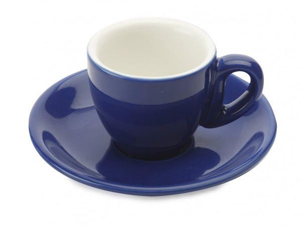 Maxwell and Williams Cafe Culture Azzurro Espresso Cup and Saucer 70ml