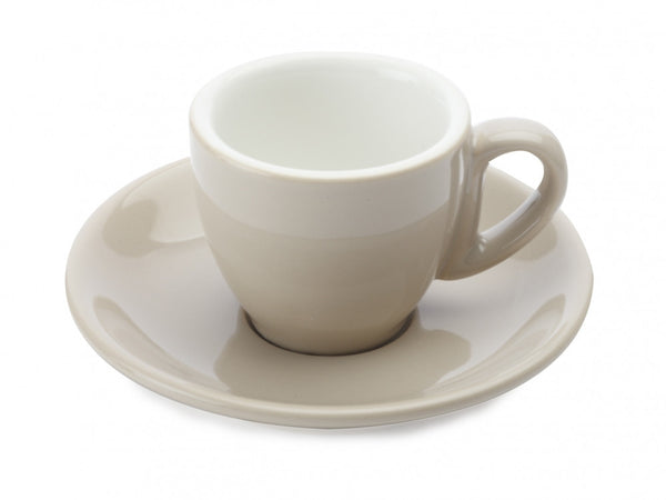 Maxwell and Williams Cafe Culture Crema Espresso Cup and Saucer 70ml