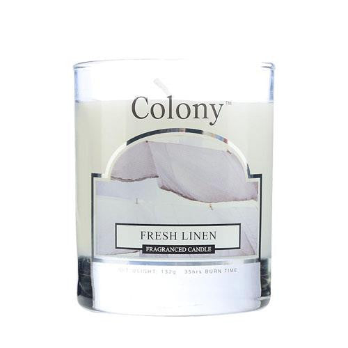 Wax Lyrical Fresh Linen Candle Jar (Small)