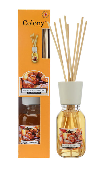 Wax Lyrical Amber & Cedarwood Reed Diffuser 120 ml