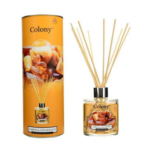 Wax Lyrical Amber & Cedarwood Reed Diffuser 180 ml
